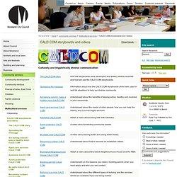 CALD COM storyboards and videos - Moreland City Council, Victoria, Australia