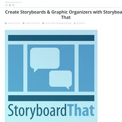 Create Storyboards & Graphic Organizers with Storyboard That