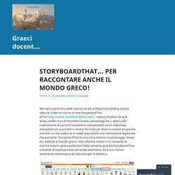 StoryboardThat… per raccontare anche il mondo greco!