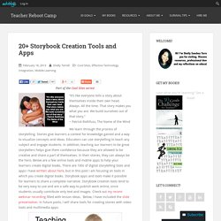 20+ Storybook Creation Tools and Apps