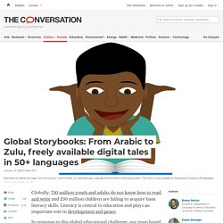 Global Storybooks: From Arabic to Zulu, freely available digital tales in 50+ languages