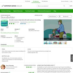 StoryBuilder Educator Review