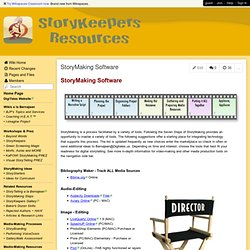 StoryKeepers - StoryMaking Software