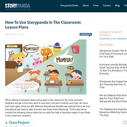 How To Use Storypanda In The Classroom: Lesson Plans