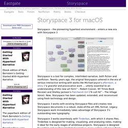 Storyspace: Storyspace