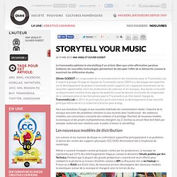 Storytell your music » OWNImusic, Réflexion, initiative, pratiques