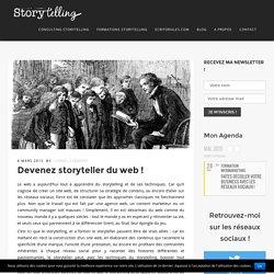 Devenez storyteller du web !