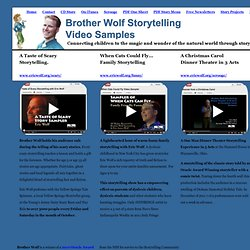 Home site for Ohio Storyteller Eric James Wolf - Brother Wolf Storytelling.