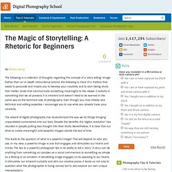 The Magic of Storytelling: A Rhetoric for Beginners