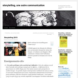 Storytelling 2015