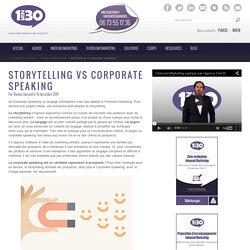 Storytelling vs corporate speaking