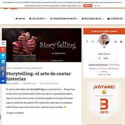 Storytelling: el arte de contar historias