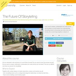 Storytelling Online Course - iversity.org