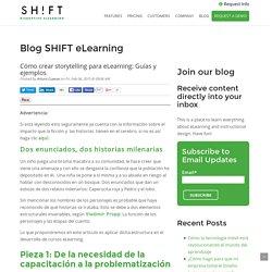 Cómo crear storytelling para eLearning: Guías y ejemplos