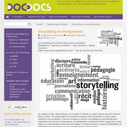 Storytelling et enseignement - analyse d'une image et de son contexte