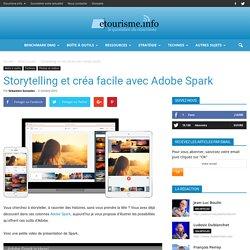 Storytelling et créa facile avec Adobe Spark