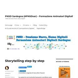 Storytelling step by step – PNSD Sardegna (#PNSDsar) – Formazione Animatori D...