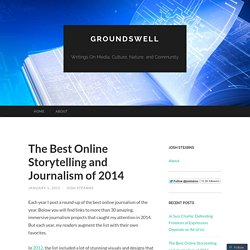The Best Online Storytelling and Journalism of 2014