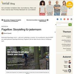 Pageflow: Storytelling für jedermann