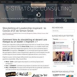 Storytelling et Leadership inspirant : le Cercle d'Or de Simon Sinek – e-Stratégie Consulting