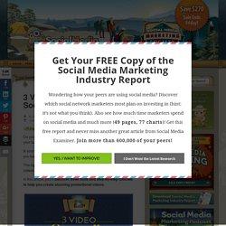 3 Video Storytelling Tools for Social Marketers : Social Media Examiner