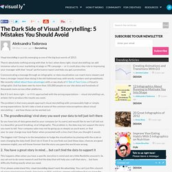The Dark Side of Visual Storytelling: 5 Mistakes You Should Avoid