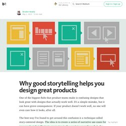 Why good storytelling helps you design great products — GV Library