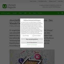 Storytelling und Change-Prozesse: Der Wandel beginnt im Kopf