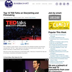 Top 10 TED Talks on Storytelling and Filmmaking