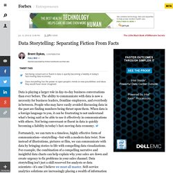 Data Storytelling: Separating Fiction From Facts