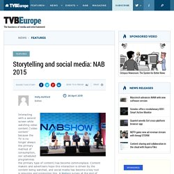 [NAB 2015] Storytelling and social media