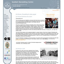 The Scottish Storytelling Centre // Storytellers