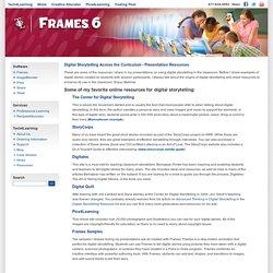 Frames: Digital Storytelling Links