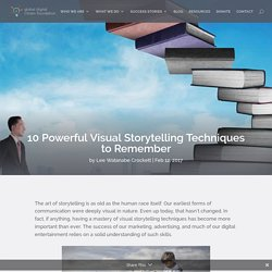 10 Powerful Visual Storytelling Techniques to Remember