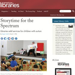 Storytime for the Spectrum
