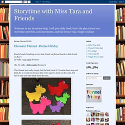 Storytime with Miss Tara and Friends
