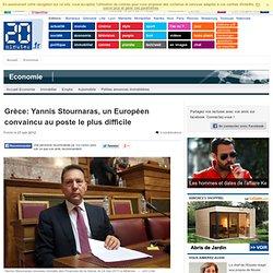 Grèce: Yannis Stournaras, un Européen convaincu au poste le plus difficile