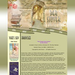Deb Stover Website, Award-Winning Author