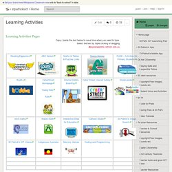 stpatricksict - Learning Activities