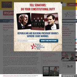 Attack On Gay-Straight Alliances Reveals Religious Right's Ugly Anti-Gay Heart