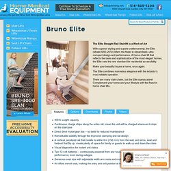 Bruno Elite Straight Stairlift SRE-2010