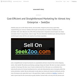Cost-Efficient and Straightforward Marketing for Almost Any Enterprise – SeekZoo