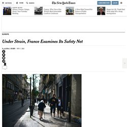 Under Strain, France Examines Its Safety Net