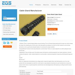 Strain Relief Cable Gland - EGS