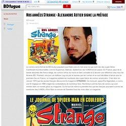 28 sept. 2013 - Nos annés Strange : préface