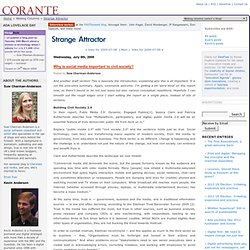 Strange Attractor Blog Archive Why is social media importan