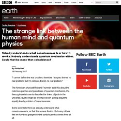 Earth - The strange link between the human mind and quantum physics