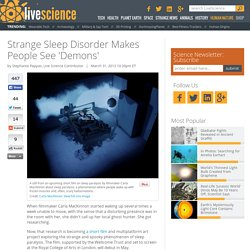Strange Sleep Disorder Makes People See 'Demons'