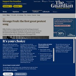 Strange Fruit: the first great protest song