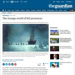 The strange world of felt presences
